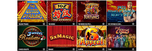 Enjoy a wide range of games at Aspers Casino