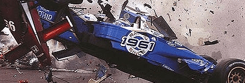Formula 1 is associated with a high level of physical danger