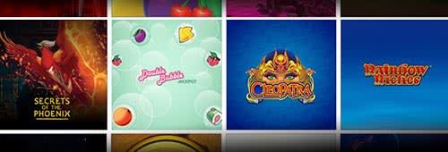 Play a range of slot games at Virgin Games