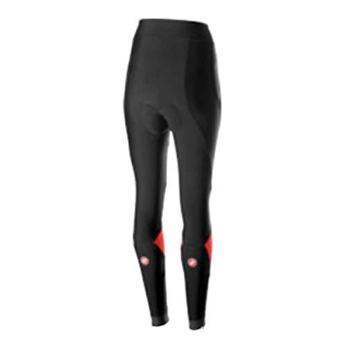 Castelli Velocissima Tight - Women's Black/Red, S